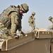 Royal  Engineers Preparing Site for New Bridge Buidling in Afghanistan