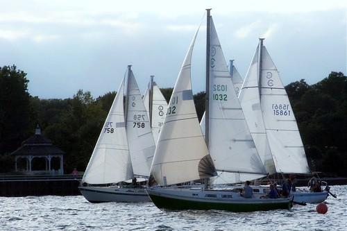 old sailboat boat sailing wind michigan racing greatlakes windpower ratrod uglybutfast cal25 fastisrelative okayitsslow