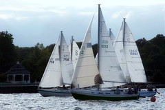 Local Regatta (russteaches) Tags: old sailboat boat sailing wind michigan racing greatlakes windpower ratrod uglybutfast cal25 fastisrelative okayitsslow