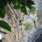 "Nick Climbing <a style=""margin-left:10px; font-size:0.8em;"" href=""http://www.flickr.com/photos/14315427@N00/7066988047/"" target=""_blank"">@flickr</a>"