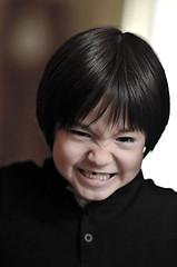 Nolhan (Bernard LATOUCHE) Tags: portrait kid child f14 85mm enfant cri vitesse d7000