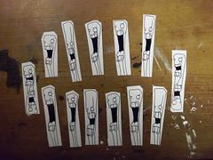 bunch of fries (MDLP5 [Good Apple] (Trade Break)) Tags: sticker stickerart fries handdrawn
