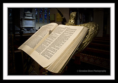 Bible (donegalblaze) Tags: ireland irish church river catholic cathedral prayer chapel historic aisle holy londonderry service walls mass northern alter protestant derry siege ulster walled foyle cityside doire maidencity londonder