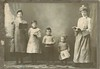 A family of readers (sctatepdx) Tags: portrait found vintageclothes vintageportrait vintagesiblings