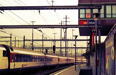 7:26 am at Olten Train Station in Switzerland (Hopeisland) Tags: