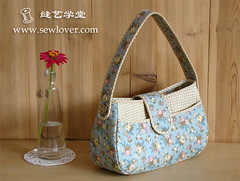 Mais uma borsa (Nena Matos) Tags: bolsa tutorial pap molde borse tecido stoffa faidate