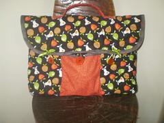 Bolsa para notebook (gracyceres) Tags: patchwork decoração tecido capanotebook bolsanotebook xícaratecido