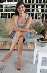 Cougar women feet