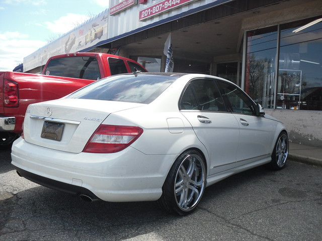one mercedes benz c class concept staggered rayco42012