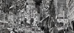 Urban Energy: B&W Trip (Tim Noonan) Tags: city people urban bw art architecture digital photoshop buildings downtown triptych market interior structures manipulation esplanade mosca hypothetical vividimagination artdigital shockofthenew sotn newreality sharingart maxfudge awardtree maxfudgeexcellence maxfudgeawardandexcellencegroup