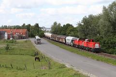 DB 6507 @ Zelzate (Peter Van Gestel) Tags: ns db van sas gent mak railion 6500 zelzate kanaalzone dbschenker lijn55 ligne55