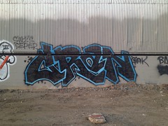 Cran (the graveyard shift) Tags: ca art graffiti oakland ld cran