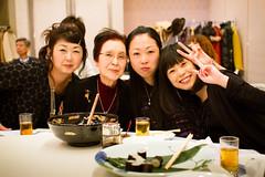 Girls (Fesapo) Tags: family ladies girls portrait cute japan female canon table lunch prime hotel lowlight women sigma indoors 7d shimane luncheon matsue   shimanemedicaluniversity