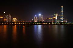 Wuyang New Town (Kezmen_Chen) Tags: guangzhou night landscape sony 16mm nex5n