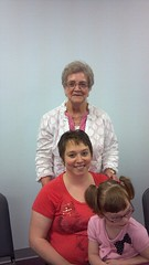 Leah, me & my Mamaw Rose @ our church brunch (Devart 05) Tags: davejones barbarajones dougdevart maryjpoe