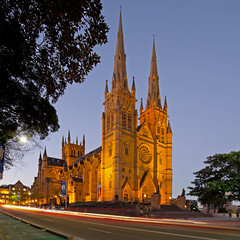 St Mary's Cathedral - Sydney (on the water photography) Tags: church sandstone catholic sydney australia collegest stmarys stmaryscathedral gothicrevival onthewaterphotography