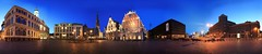 town hall square by night - 360° (diwan) Tags: city nightphotography light panorama architecture night canon dark geotagged eos view place stitch nacht latvia unesco worldheritagesite townhall bluehour rathaus riga dunkel panoramix 2012 360° weltkulturerbe langzeitbelichtung lettland longexposures rathausplatz blauestunde rīga latvija stpeterscathedral townhallsquare nachtaufnahmen schwarzhäupterhaus houseofblackheads rātslaukums canoneos450d microsoftimagecompositeeditor spivpano geo:lon=24106396 geo:lat=56947432