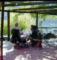 At Lake Ladon, October 2011 (5telios) Tags: film fuji superia greece stereo rocca peloponnese fujicolour ladon stereorocca