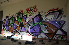 Jungle is massive!! (OSKUD 8) Tags: graffiti robot hill croatia atb xfl stonners oskud