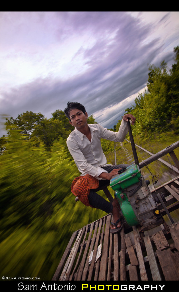 Riding the Bamboo Train in Battambang, Cambodia