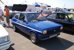 (Sam Tait) Tags: classic ford show 2012 santa pod raceway england fiesta mk1 hatchback 3 door retro fez fezzy fifi