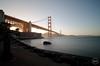 Golden Gate Bridge (RazaKazimi) Tags: sf bridge sunset sunrise golden bay gate san francisco long exposure bottom fran chain nd area