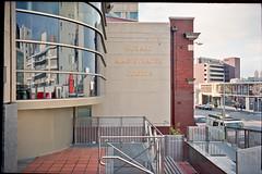 Hobart Magistrates Courts (thoughtfactory) Tags: street urban cityscape tasmania hobart pm liverpoolst phototrip kodakportra400 35m macpro leicam4p leicasummicron35mmf20asph epsonv700scan garysauerthompson prolabprocessed lightroom36