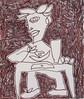 cena (battarox) Tags: selfportrait kitchen dinner picture figure autoritratto cena disegno cucina figura
