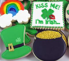 Kiss-Me (Joyful Cookies by Brandi) Tags: stpatricksday potofgold