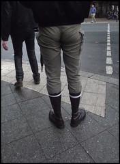 That Sucking Hole! (Harald Haefker) Tags: gay red berlin rot ass leather fetish germany deutschland hole skin boots  homoerotic german homosexual tight sucking harald arsch leder eng deutsch 2012 deutsche hintern schwul stiefel springerstiefel homoerotisch haefker haraldhaefker