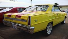 Chevy II Super Sport (hz536n/George Thomas) Tags: summer chevrolet oklahoma june yellow canon lab chevy canon5d stillwater 2012 chevyii supersport smrgsbord labcolor hotrodpowertour ef1740mmf4lusm cs5 hz536n