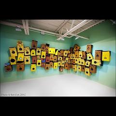 OS Gemeos at Deitch New York, loved this show #wallkandy #osgemeos #streetart #gallery #deitch #brazilian @osgemeos (Photos  Ian Cox - Wallkandy.net) Tags: street streetart newyork art canon ian photography graffiti gallery document cox 2008 deitch osgemeos wallkandy