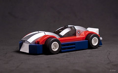 The Capmobile (_Tiler) Tags: car lego mini cap vehicle superheroes marvel captainamerica marvelcomics theavengers turboracers