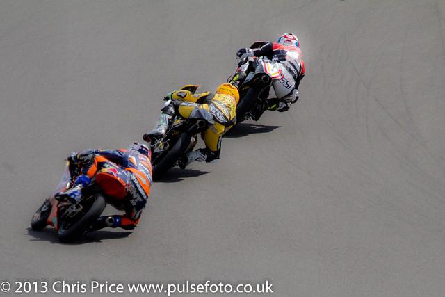 Danny Kent chasing!