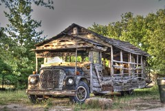 OLD BUS (ROB HARTLEY 1) Tags: old travel bus wooden mygearandme