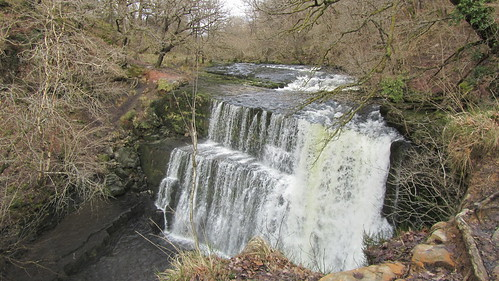 Waterfall on the Afon Mellte, Brecon Beacons