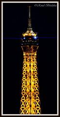 Top of Eiffel (Renal Bhalakia) Tags: paris france tower architecture europe nightlights tour nightshot eiffeltower eiffel toureiffel nightlife nightview highiso parisbynight nikond600 renalbhalakia nikon28300mmvr