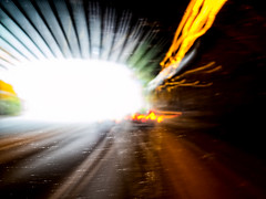 To the Light: Hold Left! (sehnerv19 (seriously sick and in bed...)) Tags: longexposure color speed motionblur nik icm dfine colorefexpro intentionalcameramovement