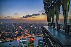 Shanghai (david.bank (www.david-bank.com)) Tags: china city urban shanghai aerial