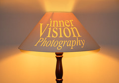 Warm Orange Glow (Inner Vision Productions) Tags: pink light orange art lamp yellow logo photography stand nikon warm soft bright signature fine smooth inner vision silky mattblythe d5200