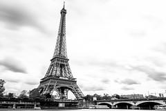 tour eiffel 4 (Chakib.T) Tags: paris tower architecture clouds movement nikon tour eiffel nd longexpossur d800e