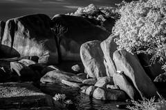 Stones (Henry Sudarman) Tags: travel blackandwhite bw indonesia ir samsung infrared belitung hitamputih v93 samsungnx nx10 harlimir