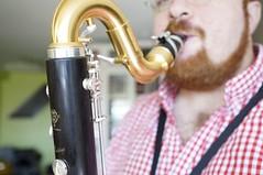 Practice / bass clarinet (Z!SL) Tags: portrait people musician selfportrait musicians zeiss portraits reeds dof rehearsal bokeh sony depthoffield redheads woodwind clarinet selfie sonnar selmer carlzeiss bassclarinet gingerbeard woodwinds mirrorless bokehwhores sonyphotographing selmerparis emount minoltaemount sel24f18z sel24f18za sel24f18 sonnarte1824 sonyflickraward nex5r sonnar2418za selmerparisclarinets self24f18 selmerprivilege blashaus