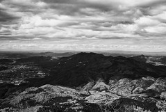 Tsukuba San (Jiajun Yang) Tags: leica mountain clouds zeiss landscape 28mm m82 monochrone