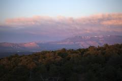 Mount Garfield and Grand Mesa (Explored) (Jeff Mitton) Tags: sunset mountains colorado grandmesa coloradonationalmonument wondersofnature mountgarfield earthnaturelife