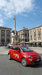 Enjoy sbarca a Catania (A major integrated energy company) Tags: people news car energy fiat scooter mp3 persone sharing vehicle 500 brand catania sud piaggio elefante tecnology tecnologia energia carsharing stakeholder brandidentity innovazione sostenibilit mobilit sharingeconomy vehiclesharing scootersharing