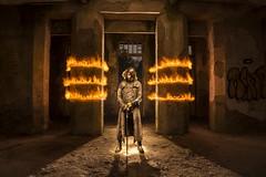 Another future (lightbrothersfotografia) Tags: longexposure lightpainting fire firejuggling firepainting cesuras ultrafire trustfire sanatoriodecesuras onlyraw lightbrothers