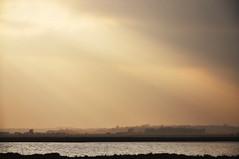 DSC_1277 [ps] - Sweep (Anyhoo) Tags: uk trees winter england cloud mist water river coast countryside suffolk haze scenery waves cloudy horizon spray flats coastal shore sunburst rays aldeburgh crepuscularrays lowsun layered orfordness alde slaughden anyhoo riveralde photobyanyhoo