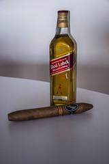 Red Label & Diadema. (Patadphotos) Tags: red label whisky cigars diadema davidoff
