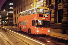 G M Buses 7924 (ANC 924T) (SelmerOrSelnec) Tags: bus night mosleystreet manchester leyland parkroyal gmt atlantean gmbuses anc924t